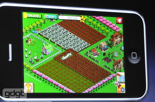 FarmVille Comes To The iPhone
