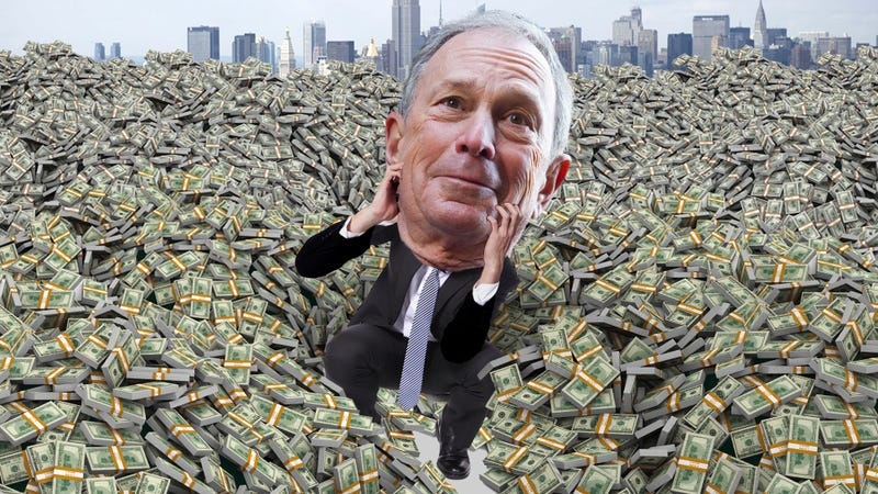 Helpless Mayor Bloomberg Can't Stop Himself From Getting Richer