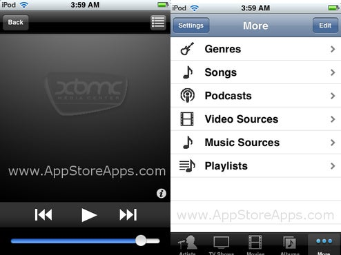 XBMC Remote Control App Store Application Arrives for Windows, Mac and Linux