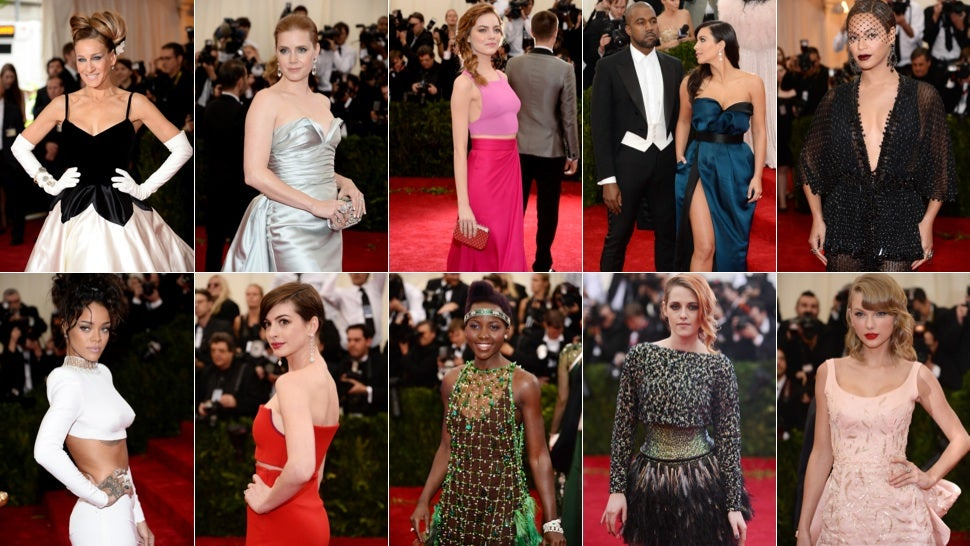 All the Glamorous, Slinky and Totally Insane Looks From the Met Gala