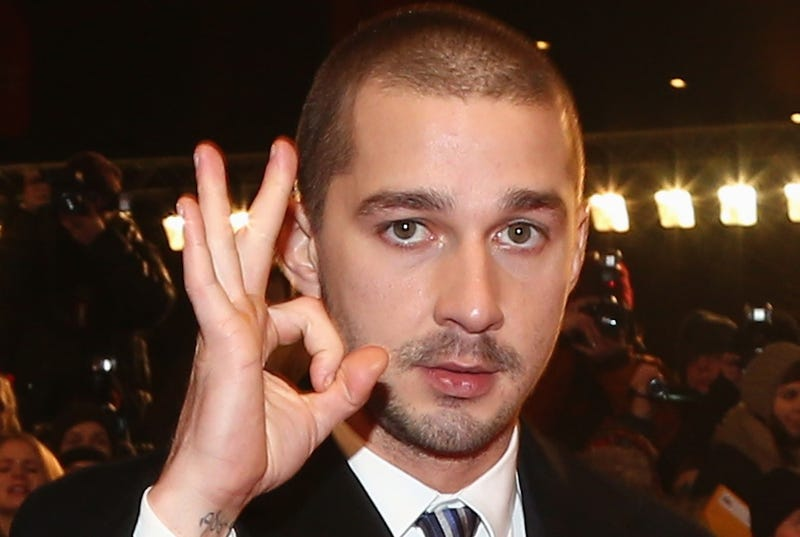 Watch Shia LaBeouf Headbutt Some Guy During a Bar Fight Last Night