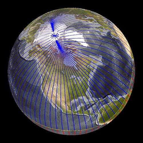 Mysterious Earth's Core Plume Shifting the Magnetic North Pole