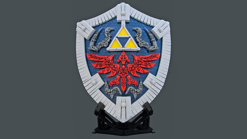 The Legend of Zelda: Quest For The Amazing LEGO Shield