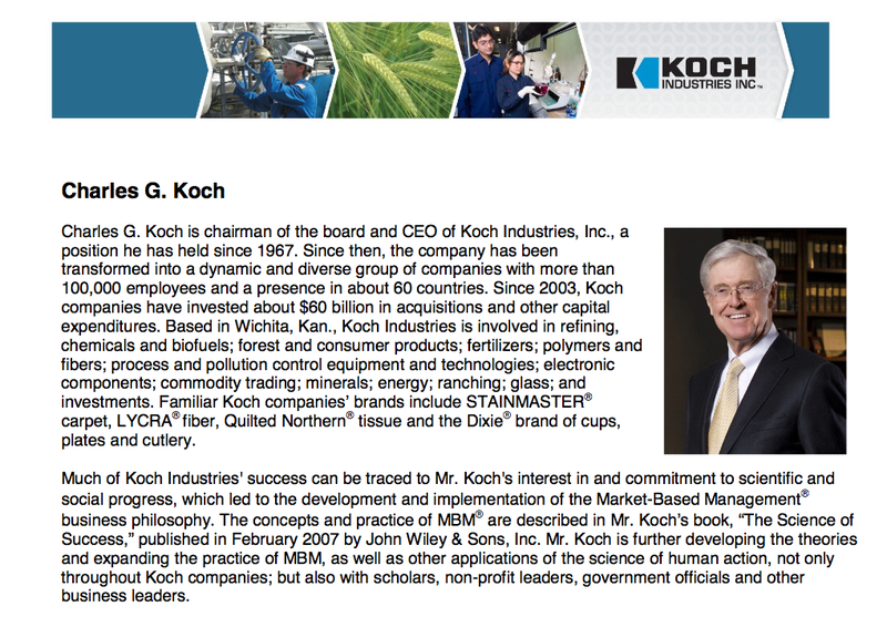 How to Land an Interview With Charles Koch