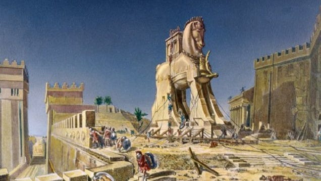 What was the cause of the Trojan War?