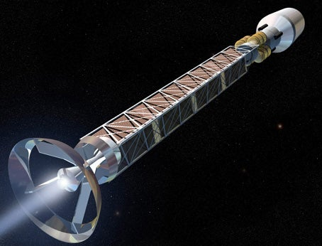 An Antimatter Ship for Every Space Dock