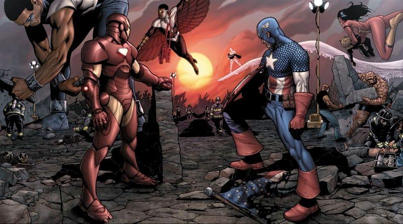 Todo lo que debes saber acerca de Civil War(el cómic) y sus diferencias con la película