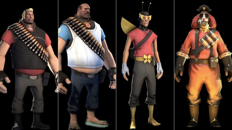 Team Fortress 2 Players Are About To Get A 'Boatload' More Adult Swim Gear