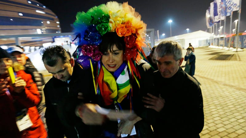 Transgender Former Italian MP Briefly Detained in Sochi