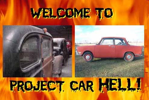 Project Car Hell: 1961 BMW 700 or Three 1955 Austin FX3 Taxis