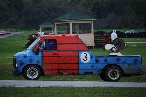 Holy Nickelbag GMC Van Prepares For 2010 24 Hours Of LeMons Season