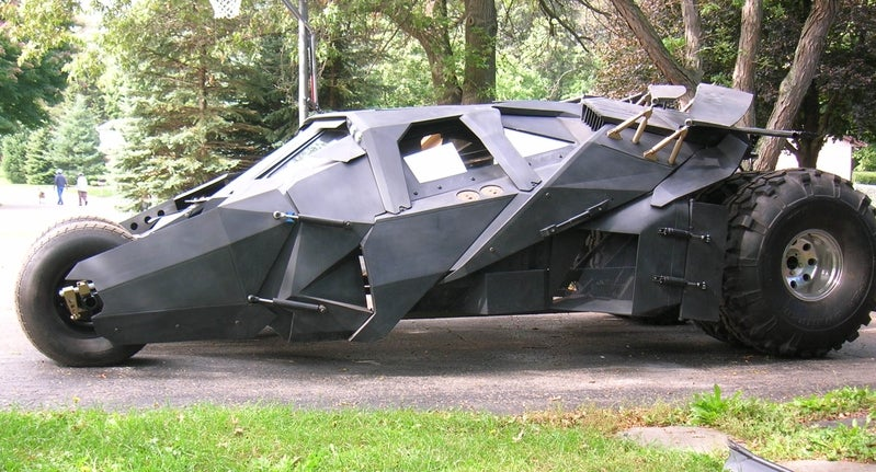 Fan-Made Batmobile is Ready for the Gotham Streets