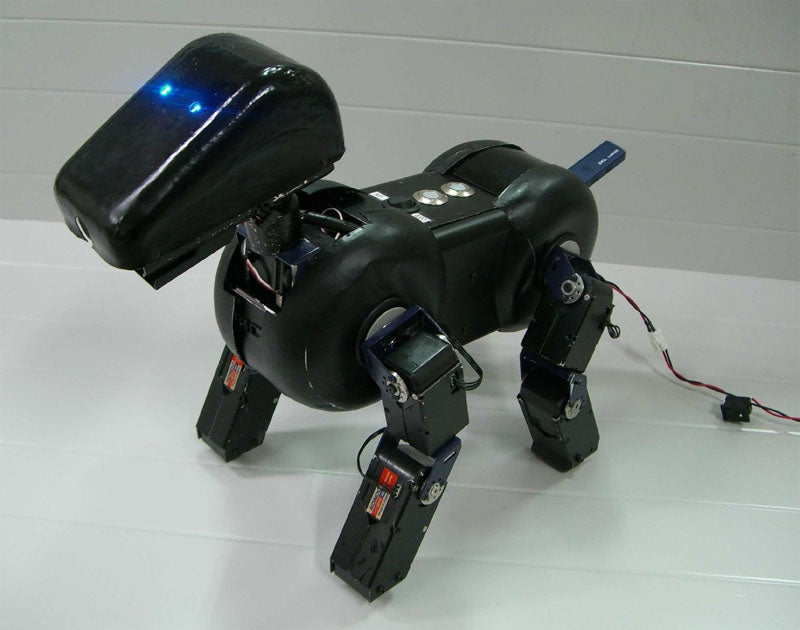 Bj Linux-based Robo-Mutt is Smarter than AIBO