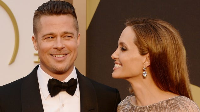 The Brangelina Wedding 'Smelt of Rosemary and Jasmine'