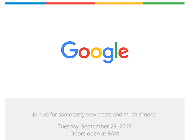 We'll Be Bringing You Google's Marshmallows (and Nexi?) on September 29th