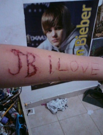 When Your Justin Bieber Love Has Gone Too Far