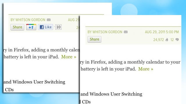 Wallflower Turns Off Social Sharing Buttons, Improves Firefox Performance