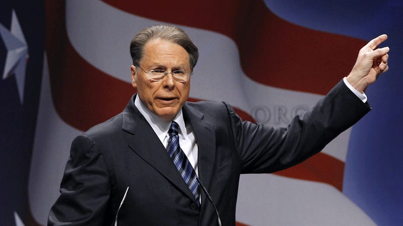 NRA Spokesman Wayne LaPierre's Insane Paranoia Is More Mainstream Than You Think