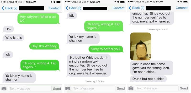 Misadventures in Texting