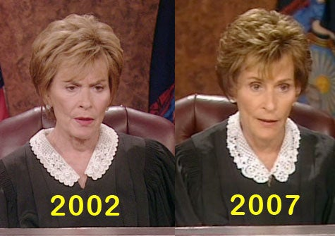 Judge Judy: A Good Case For Tasteful Plastic Surgery