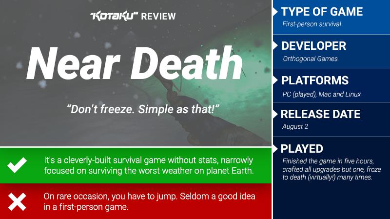 Near Death: The Kotaku Review