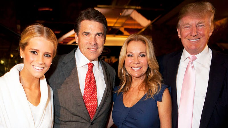 Rick Perry Partied with Reality Stars at Fashion Week