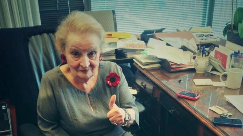 Madeleine Albright Was Following Team USA's Kicklomatic Relations