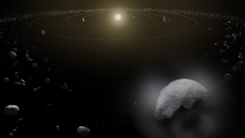 Wet Dwarf: Astronomers Spot Water In Our Asteroid Belt