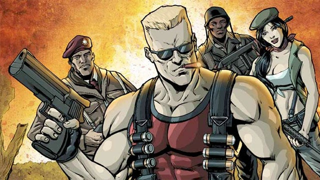 Duke Nukem: Glorious Bastard Sends Duke to WWII for His First Comic Book Series