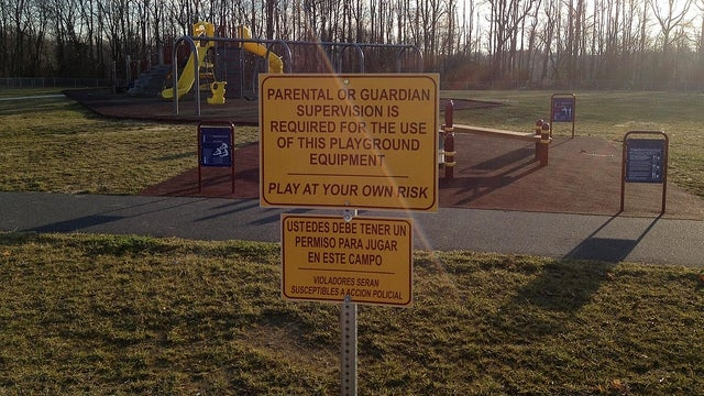 Delaware Playground Signs with Alarming Spanish Translation Considered Racist by Some