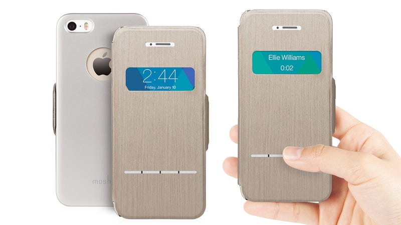A Touch-Sensitive iPhone Case That Lets You Answer Calls While Closed