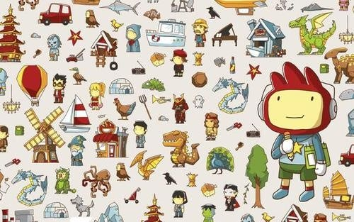Adventures in Scribblenauts