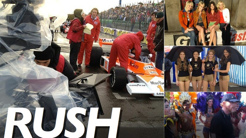 "Ron Howard's F1 Film ""Rush"" Will Make The '70s Look Sexy"