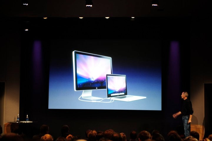 Clearly, your new MacBook needs a new display