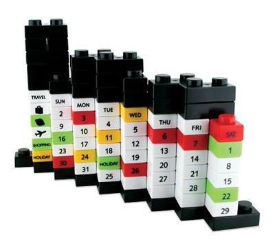 Puzzle Calendar is Not LEGO Compatible