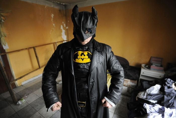 Slovak Batman has the most DIY-looking Batsuit you've ever seen