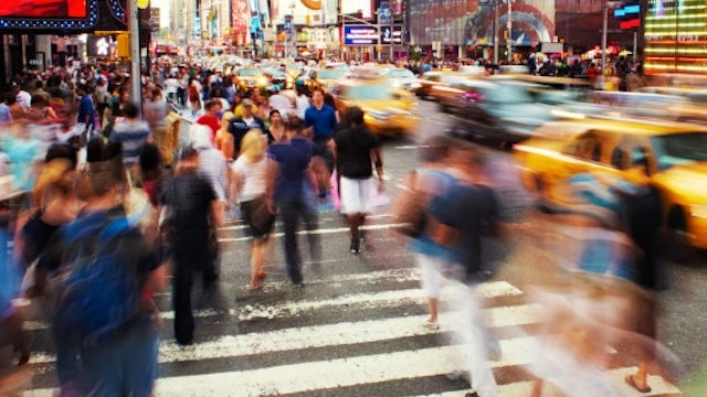 Times Square is NYC's Happiest Place; Hell Is the Nation's Saddest Word