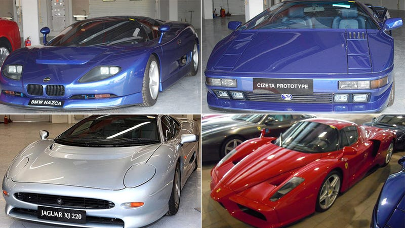 Sultan of Brunei selling exotic cars he never drove
