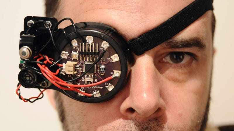 Oh Great, Augmented Reality Eyepatches Will Probably Lead To Super Pirates