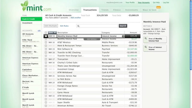 Five Best Personal Finance Tools