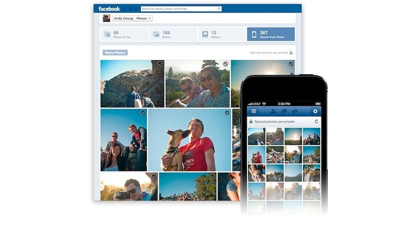 Facebook Testing Automatic Photo Sync for iOS
