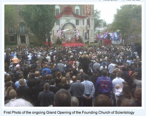 Spooky Scientology Center Opening Today in D.C. to Protests and Pissed-Off Commuters