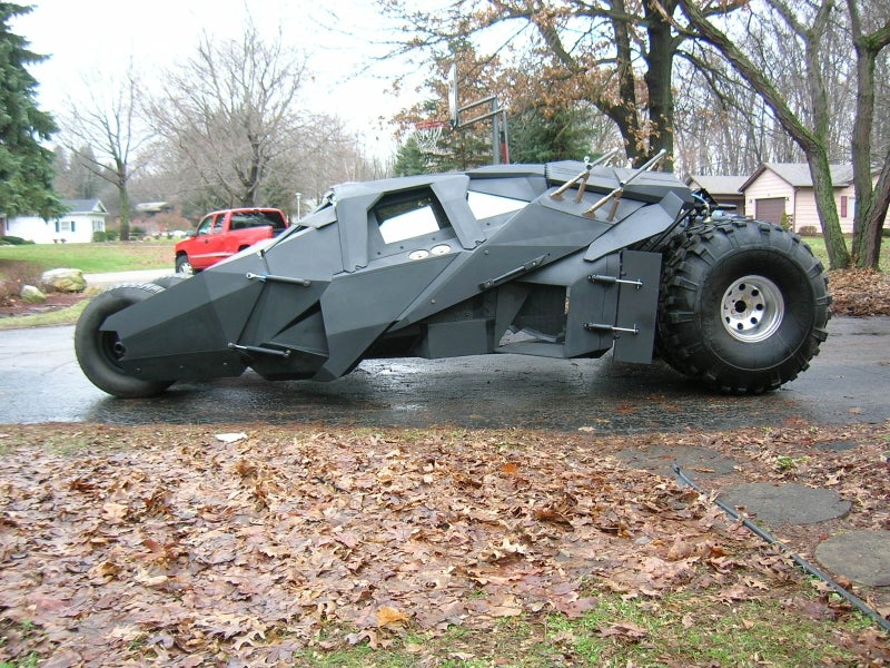 DIY Batman Tumbler Is Nearly Perfect, Built With One Man's Bare Hands