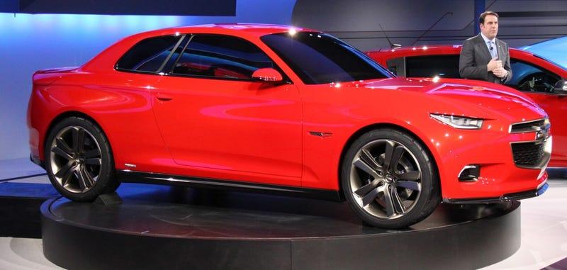 Chevrolet Code 130R Concept: Detroit Auto Show Live Photos