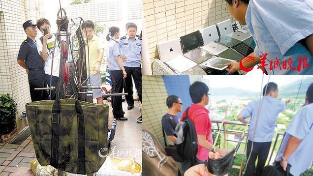The Great Chinese iPad Zipline Smuggling Ring