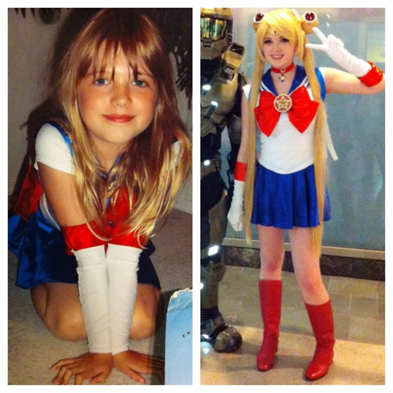Sailor Moon Fan Has Been Cosplaying Her Whole Life