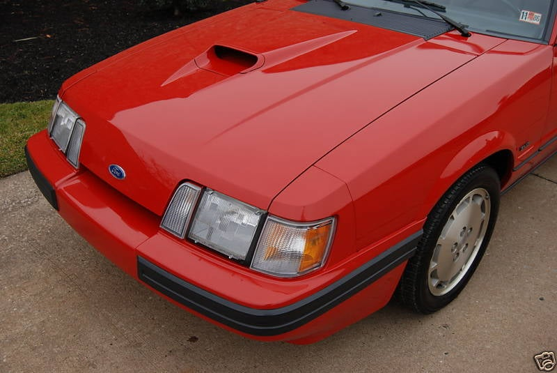 Nice Price Or Crack Pipe: 99-Mile 1986 SVO Mustang For $33,900?
