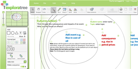Use Exploratree to Plan A Project or Idea