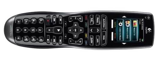 Logitech's Harmony 900 Universal Remote Has Touchscreen