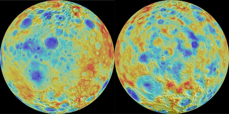 Something Is Erasing the Craters on Ceres